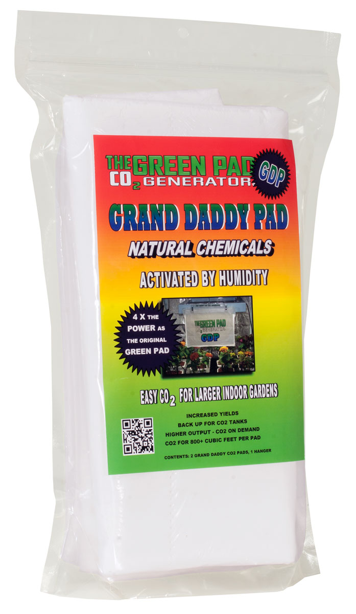 Green Pad Grand Daddy Pad CO2 Generator