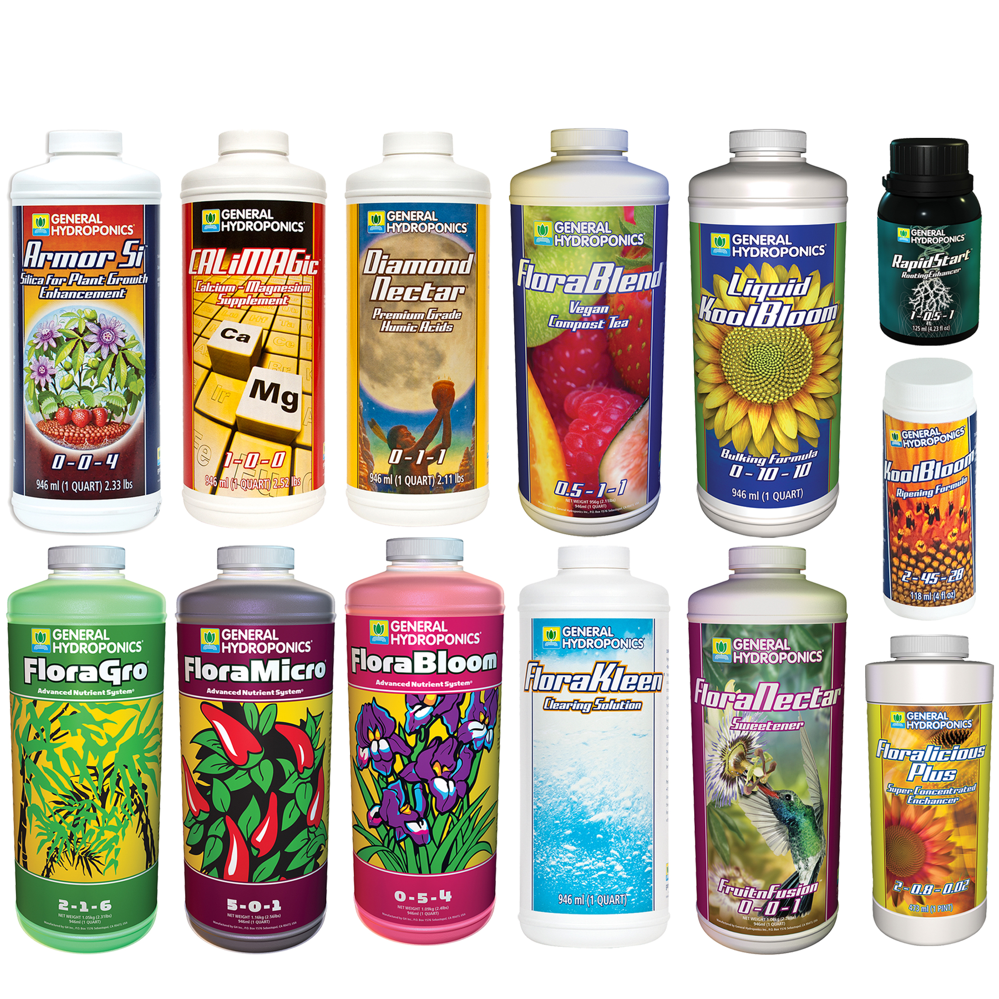 General Hydroponics Expert Plus Nutrient Kit – Small