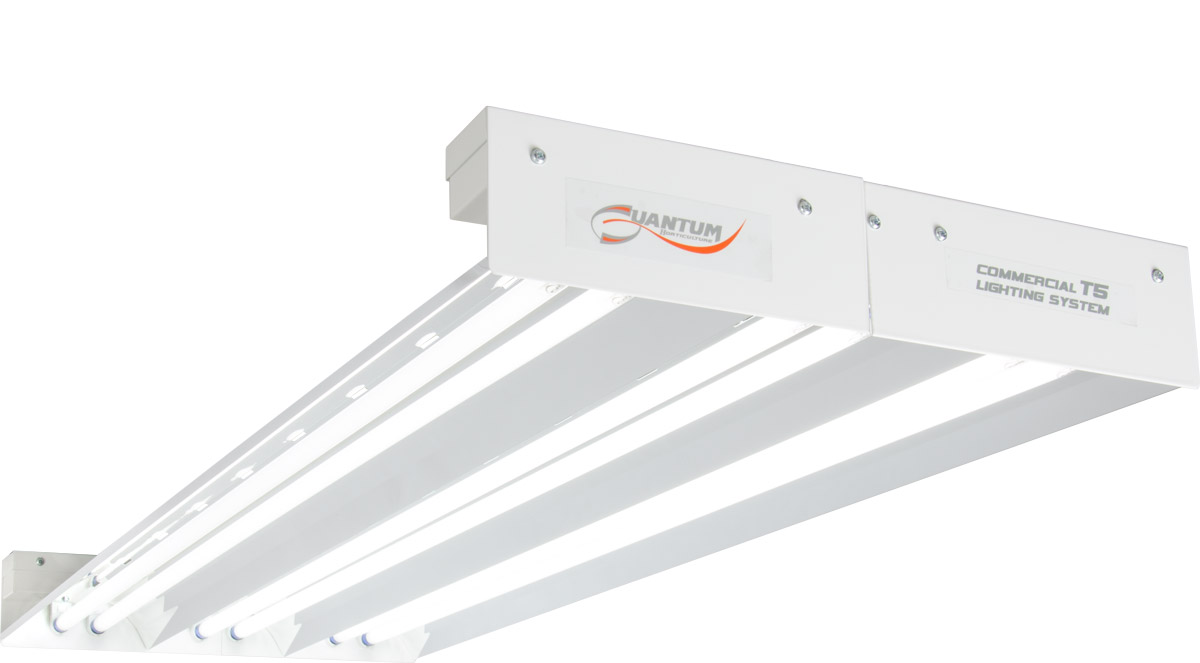 Quantum T5 324W 4' 6-Tube Fixture - No Lamps