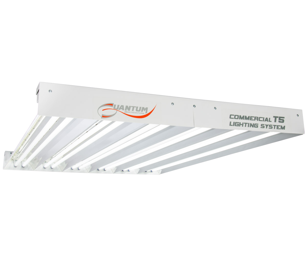 Quantum T5 648W 4' 12-Tube Fixture - No Lamps