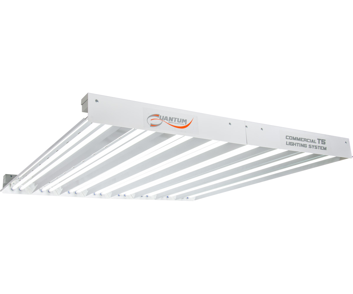 Quantum T5 864W 4' 16-Tube Fixture - No Lamps