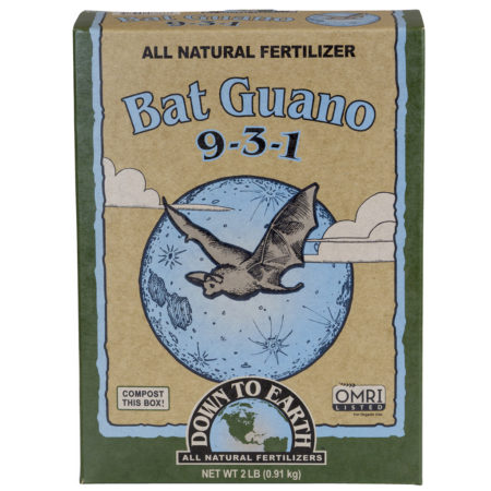 Down To Earth Bat Guano 9-3-1