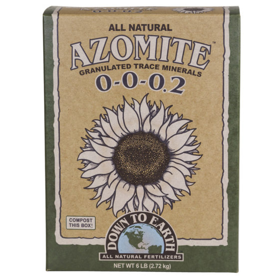Down To Earth Azomite Granulated