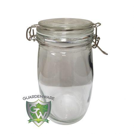 GuardenWare Glass Jar w/ Clamp Lid