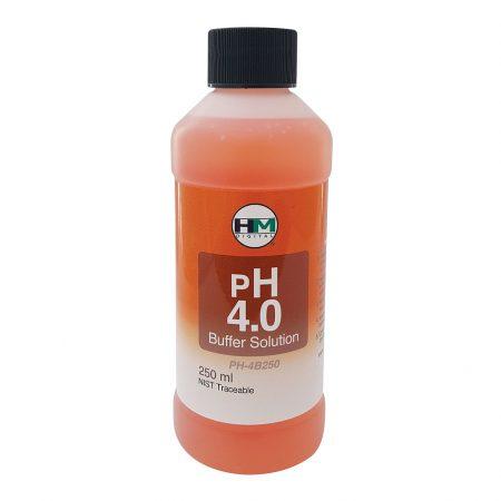 HM Digital pH 4 Buffer Solution