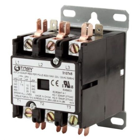 Titan Controls 3P /120 V 50 A Relay