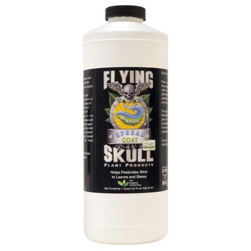 Flying Skull Spread Coat