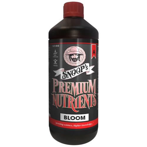 Snoop's Premium Nutrients Bloom Non-Circulating  A 3.1 - 0 - 0 & B 0.7 - 2.5 - 6.7