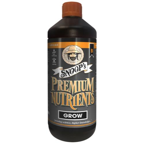 Snoop's Premium Nutrients Grow Non-Circulating A 3.6 - 0 - 0 & B 0.1 - 2.8 - 5