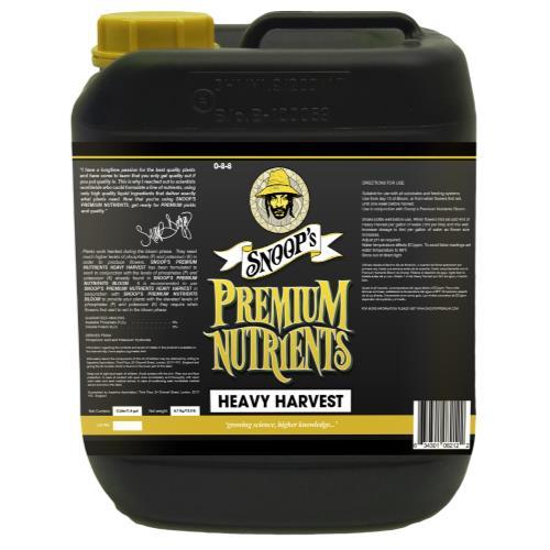 Snoop's Premium Nutrients Heavy Harvest  0 - 8 - 8