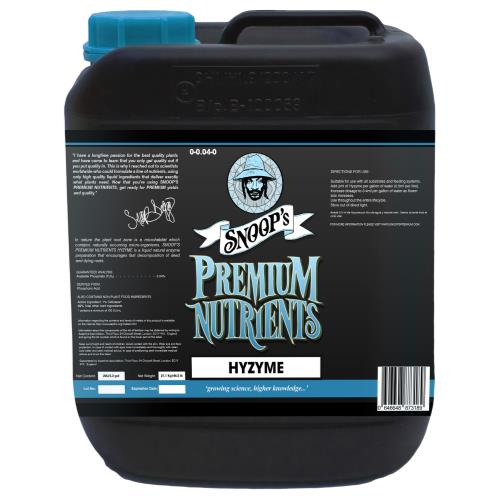 Snoop's Premium Nutrients Hyzyme  0 - 0.04 - 0