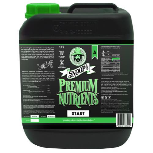 Snoop's Premium Nutrients Start A 4 - 0 - 0 & B 0 - 2.6 - 4.3