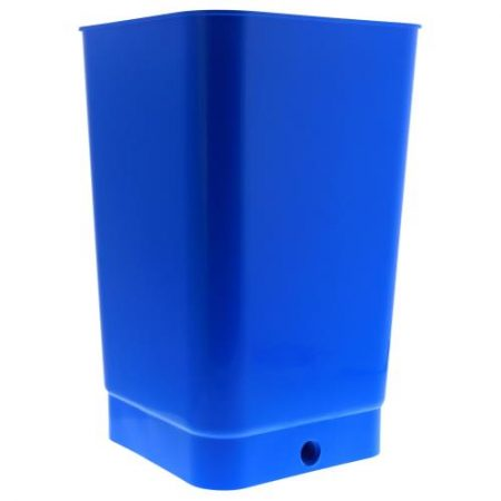 Flo-n-Gro Bottom Drain Blue Bucket - 4 Gallon