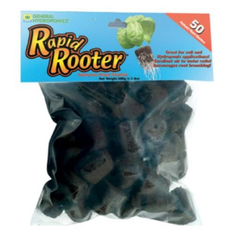 General Hydroponics Rapid Rooter 50 Pack