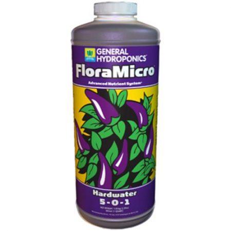 General Hydroponics Hardwater Flora Micro  5 - 0 - 1