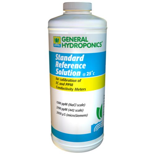 General Hydroponics 1500 PPM Reference Solution 8 oz