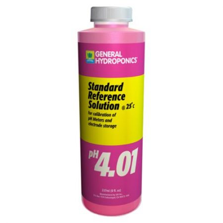 General Hydroponics pH 4.01 Calibration Solution 8 oz