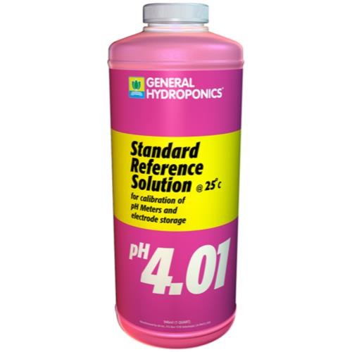 General Hydroponics pH 4.01 Calibration Solution Quart