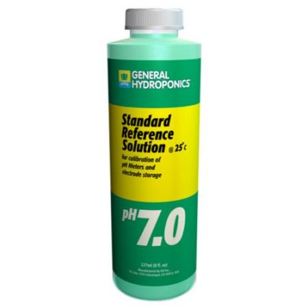 General Hydroponics pH 7.01 Calibration Solution 8 oz