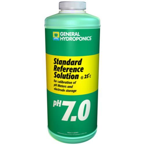 General Hydroponics pH 7.01 Calibration Solution Quart