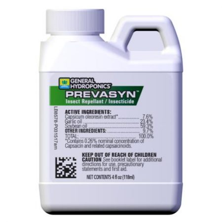 General Hydroponics Prevasyn Insect Repellant/Insecticide