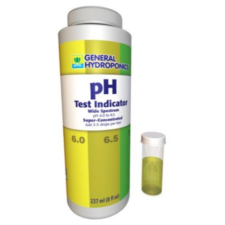 General Hydroponics pH Test Indicator 8 oz