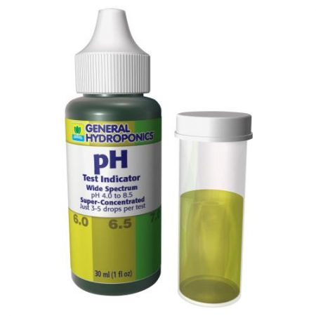General Hydroponics pH Test Kit 1 oz