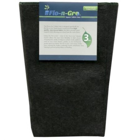 Flo-n-Gro Square Fabric Liner 3 Gallon