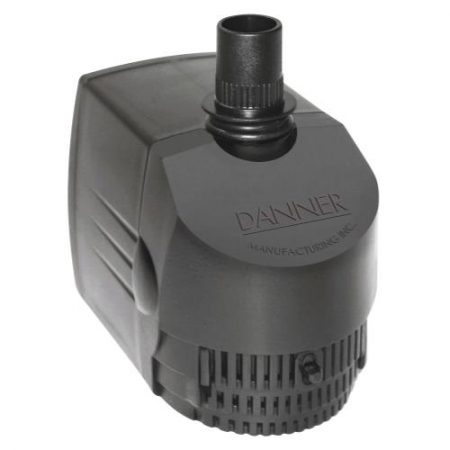 Danner Supreme Hydroponics Submersible/ In-Line Pump 530 GPH (Grower's Pump)