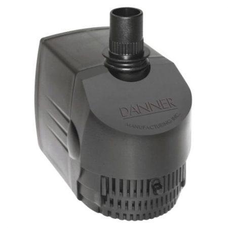 Danner Supreme Hydroponics Submersible/ In-Line Pump 725 GPH (Grower's Pump)