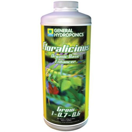 General Hydroponics Floralicious Grow  1 - 0.07 - 0.6