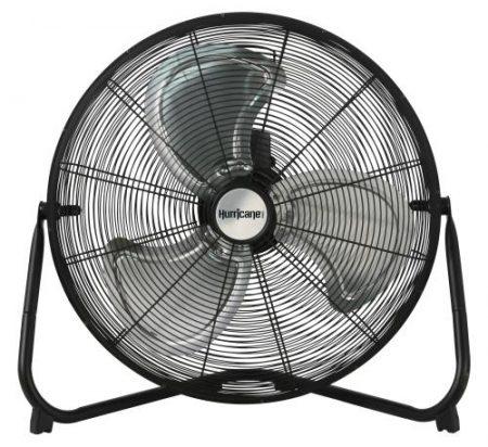 Hurricane Pro High Velocity Metal Floor Fan 20 in