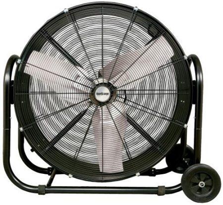 Hurricane Pro Heavy Duty Adjustable Tilt Drum Fan 36 in
