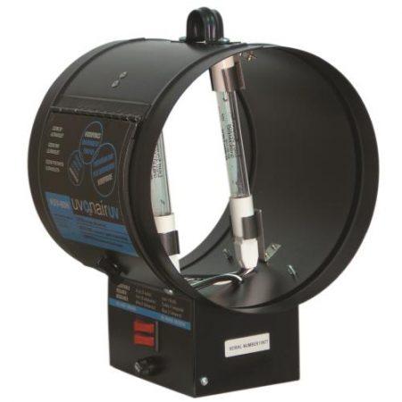 Uvonair UV Inline Duct Booster Ozonator 8 in - 2 Bulb