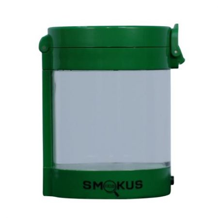 Smokus Focus Middleman Display Container w/ LED and Dual Magnification - Green