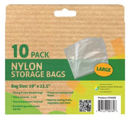Harvest Keeper Heavy Duty Multi-Use Storage Bag - 1 mil - 19 in x 23.5 in (100/Box)