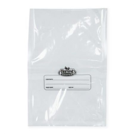 Harvest Keeper Clear / Clear Precut Quart Bags 8 in x 12 in (50/Pack)