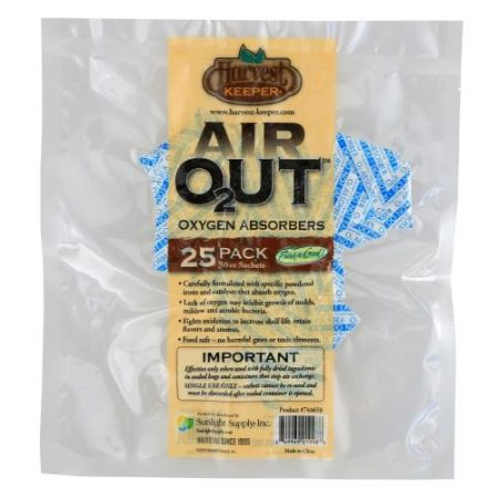 Harvest Keeper Air Out Oxygen Absorber 50 cc (25/Bag)