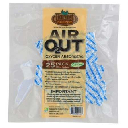 Harvest Keeper Air Out Oxygen Absorber 100 cc (25/Bag)