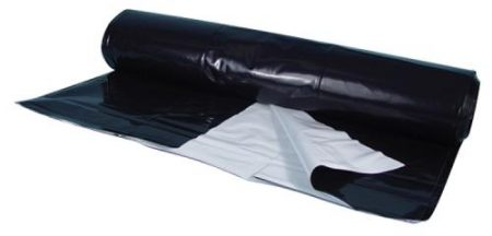 Berry Plastics Black/White Poly Sheeting - Commercial Sizes