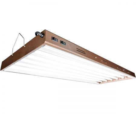 Agrobrite Designer T5 324W 4' 6-Tube Fixture with Lamps