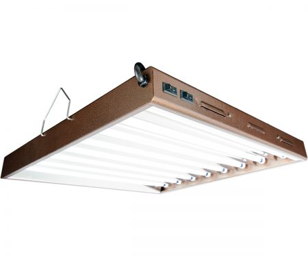 Agrobrite Designer T5 192W 2' 8-Tube Fixture with Lamps