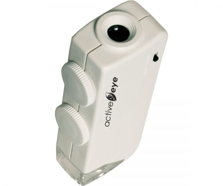 Active Eye Microscope