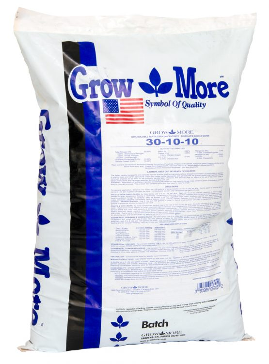 Grow More Water Soluble 30-10-10