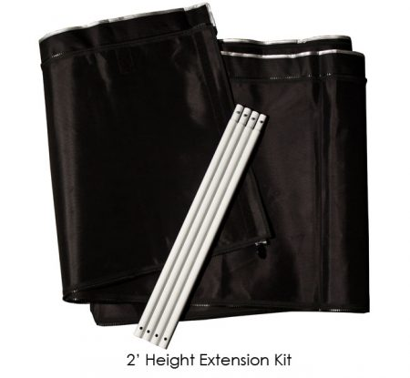 2' Extension Kit for 10' x 20' Gorilla Grow Tent