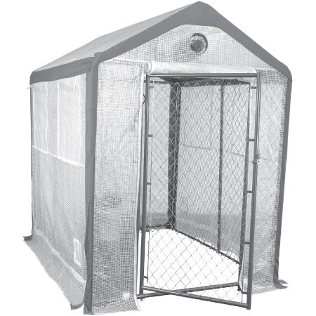 Saturday Solution Secure Grow Chain Link Greenhouse