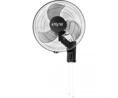 "Active Air Heavy Duty 16"" Metal Wall Mount Fan"