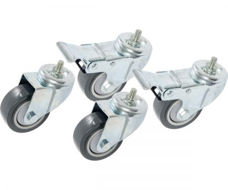 Casters for VGS300 & VGS600 Vertical Grow Shelf Systems