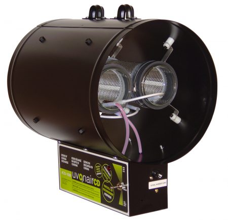 CD-In-Line Duct Ozonator Corona Discharge w/2 cells