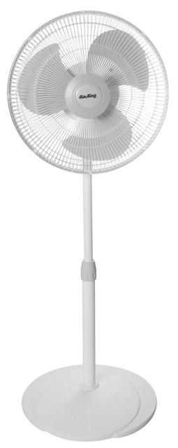 "Air King 16"" Oscillating Pedestal Fan"